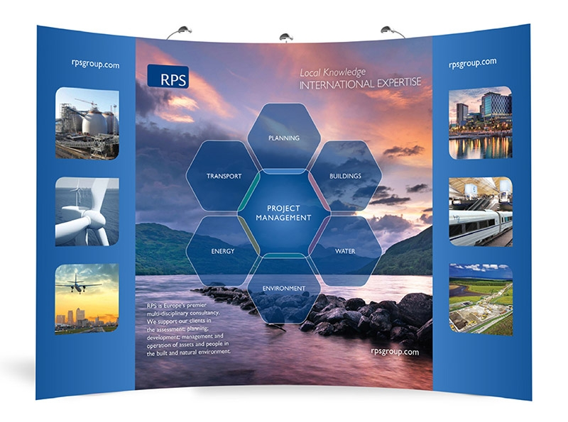 RPS GROUP PLC EXHIBITION STAND