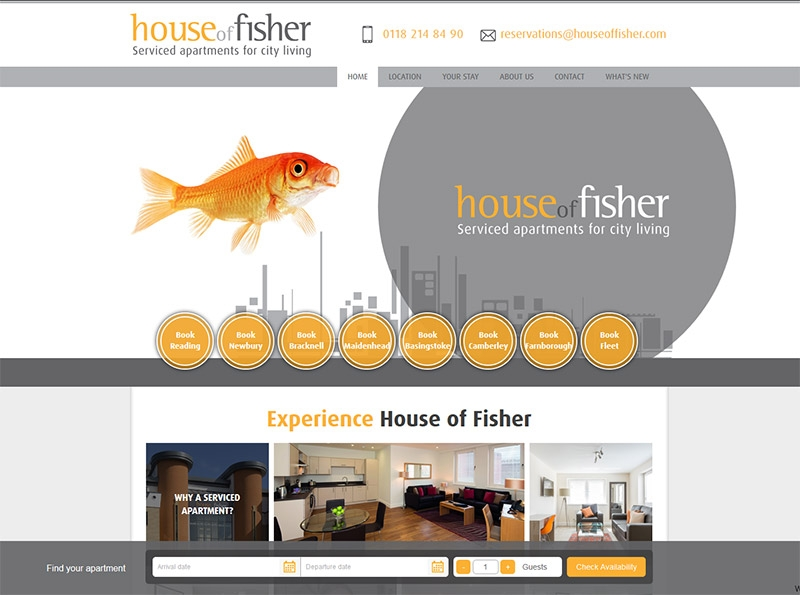 House of Fisher Website