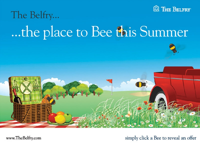 The Belfry Summer emailer