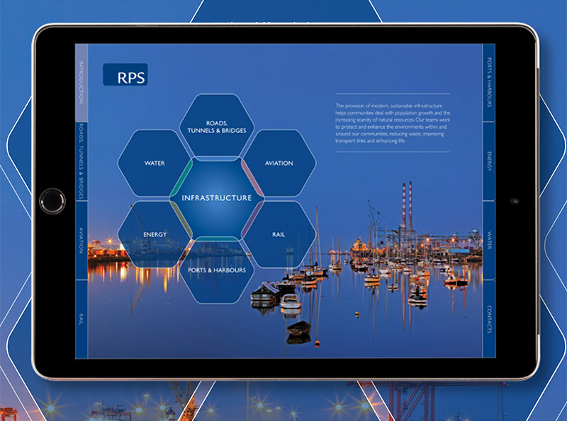 RPS GROUP PLC IPAD BROCHURE